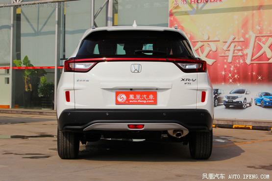 17款本田XRV现车充足 销量冠首全国特惠高清图片