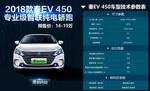 2018款 比亚迪秦 EV450