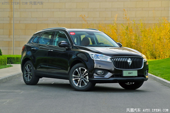宝沃BX7南京售价16.98万起 现车销售