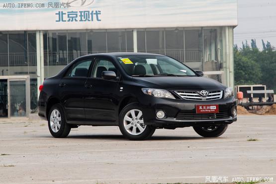 丰田卡罗拉可享优惠1万元 西宁现车销售