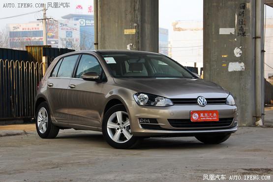 鄂州大众高尔夫直降2万元 现车有售