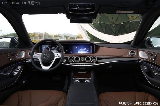 奔驰S级上海优惠达12万 现车充足