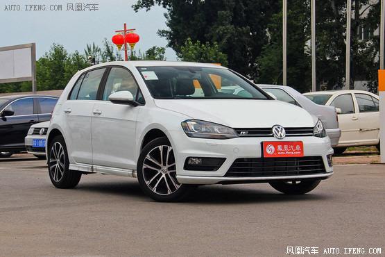 大众高尔夫现车充足在售 最高优惠1.3万