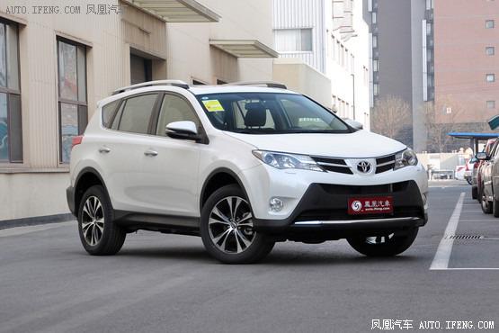 现车促销 购丰田RAV4最高可优惠2.2万元