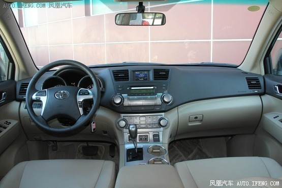 2012款 丰田汉兰达 2.7L 两驱豪华版 7座