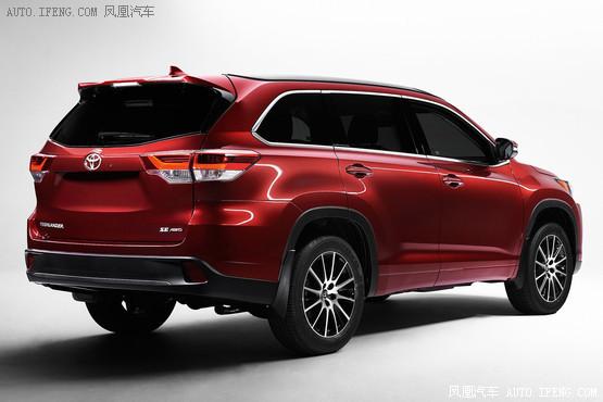 2017款丰田汉兰达价格 强劲SUV畅享特购高清图片