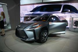 雷克萨斯LF-NX 概念车